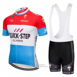 2018 Jersey Quick Step Floors Red White Blue