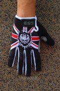 Rock Full Finger Gloves Black And Red