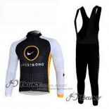 2010 Jersey Livestrong Long Sleeve Black