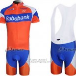 2011 Jersey Rabobank Blue And Orange