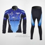 2011 Jersey Subaru Long Sleeve Sky Blue And Black
