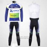 2012 Jersey GreenEDGE Champion Oceania Long Sleeve