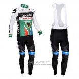 2013 Jersey Garmin Sharp Champion Sudafrica Long Sleeve