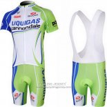 2013 Jersey Liquigas Cannondale White And Green