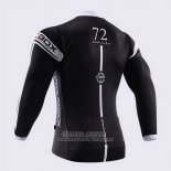 2014 Jersey Fox CyclingBox Long Sleeve Black And White
