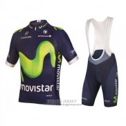 2016 Jersey Movistar Green And Blue