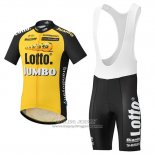 2017 Jersey Lotto NL Jumbo Jumbo Yellow