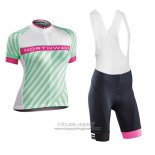 2017 Jersey Women Northwave Green And Pink