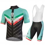 2018 Jersey Bianchi Tiera Light Green and Black