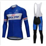 2018 Jersey UCI Mondo Champion Quick Step Floors Long Sleeve Blue