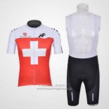 2011 Jersey Assos White And Red