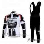 2011 Jersey BMC Long Sleeve White And Black