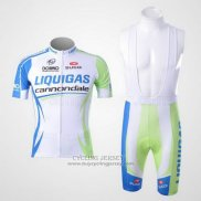 2011 Jersey Liquigas Cannondale White And Green