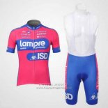 2012 Jersey Lampre ISD Pink And Sky Blue