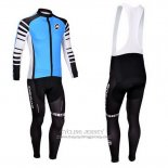 2013 Jersey Assos Long Sleeve Sky Blue And Black