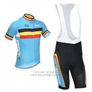 2013 Jersey Belgium Light Blue And Black