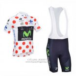 2013 Jersey Movistar Lider White And Red