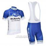 2013 Jersey Subaru White And Sky Blue