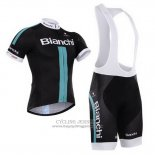 2014 Jersey Bianchi Black And Green