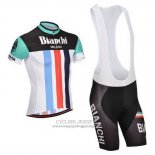 2014 Jersey Bianchi Black And White
