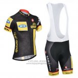 2014 Jersey MTN Black And Yellow