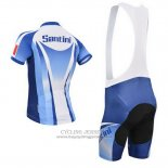 2014 Jersey Santini Light Blue And White