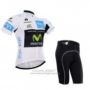 2015 Jersey Movistar Lider White
