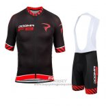 2015 Jersey Pinarello Black And Red