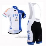 2015 Jersey UHC White And Sky Blue