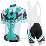 2016 Jersey Bianchi Sky Blue And White