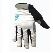 2017 Adidas Full Finger Gloves White