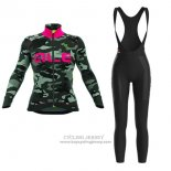2017 Jersey Women ALE Camo Long Sleeve Black