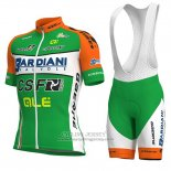 2018 Jersey Bardiani Csf Green and White