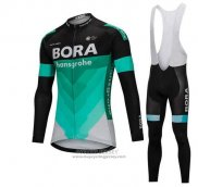 2018 Jersey Bora Long Sleeve Green and Black