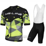 2018 Jersey Nalini Ahs Discesa Black and Green