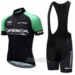 2018 Jersey Orbea Black and Green