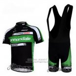 2011 Jersey Cannondale Black And Green