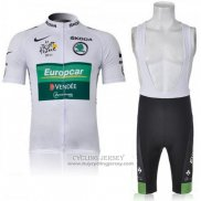 2011 Jersey Europcar Lider Green And White
