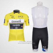 2011 Jersey Garmin Lider Yellow