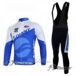 2011 Jersey Giant Long Sleeve Blue And White