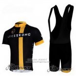 2011 Jersey Livestrong Black And Yellow