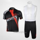 2012 Jersey Scott Black And Red
