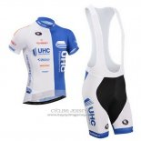 2014 Jersey UHC White And Sky Blue