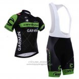 2015 Jersey Cannondale Green And Black