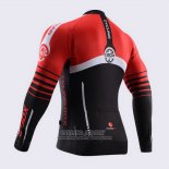 2015 Jersey Fox CyclingBox Long Sleeve Black And Red