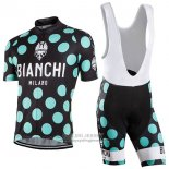 2016 Jersey Bianchi Green And Black