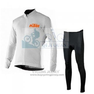 2016 Jersey KTM Long Sleeve White