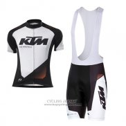 2016 Jersey KTM White And Black