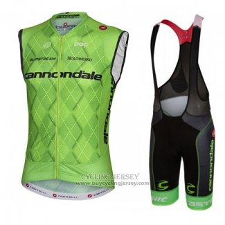 2016 Wind Vest Cannondale Green And Black