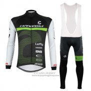 2017 Jersey Cannondale Long Sleeve Black And White